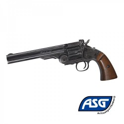 "Revolver Schofield 6 Negro Full metal - 4,5 mm Co2 Balines"" -"