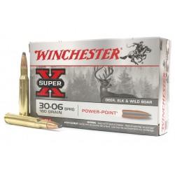 Munición Metálica Winchester Power Point 30-06 180 Gr - Armeria