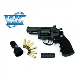 Revolver WG SW.357 Full metal con maletin Co2 4,5 mm BBs Acero