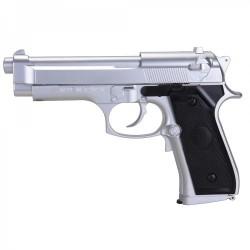 Pistola SR92 Silver EBB pilas - 6 mm - Armeria EGARA