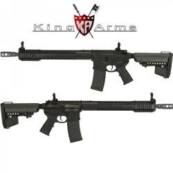 Subfusil King Arms Black Rain Ordance- Rifle Negro AEG - 6mm -