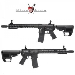 Subfusil King Arms TWS M4 KeyMod Carbine Negro AEG - 6mm -