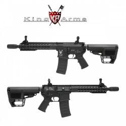 Subfusil King Arms TWS M4 KeyMod CQB Negro AEG - 6mm - Armeria
