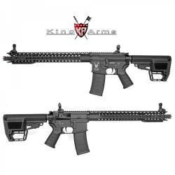 Subfusil King Arms TWS M4 KeyMod Dinosaur Negro AEG - 6mm. -