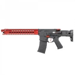 Subfusil Vega Avalon Leopard Carbine AEG - 6 mm Rojo VFC -