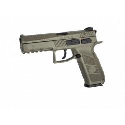 Pistola CZ P-09 FDE - 6 mm GBB - Armeria EGARA