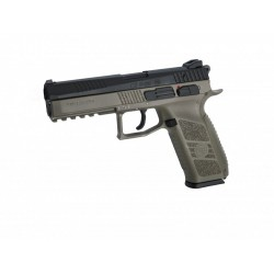 Pistola CZ P-09 FDE Duotone incluye maletin - 6 mm GBB / Co2 -