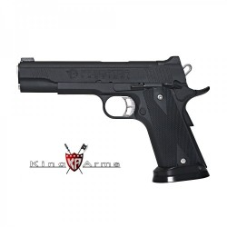 Pistola KING ARMS Predator Iron Shrike Negro - 6 mm GBB -