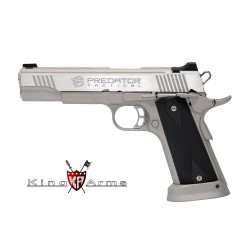 Pistola KING ARMS Predator Iron Shrike Plata - 6 mm GBB -