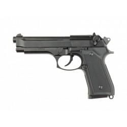 Pistola M9 Negra Full Metal - 6 mm GBB - Armeria EGARA