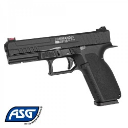 Pistola ASG Commander XP18 Negro - 6 mm Co2 - 0,9 Julios -