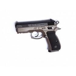 Pistola CZ 75D Compact FDE Duotone - 6 mm muelle - Armeria EGARA
