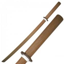 "Espada de entrenamiento Samurai madera 40"" - Armeria EGARA"