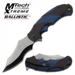Navaja MTech USA Ballistic MX-A801BL con apertura asistida. -