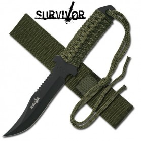"Cuchillo de supervivencia Survivor HK-7526 largo 7,5"" - Armeria"