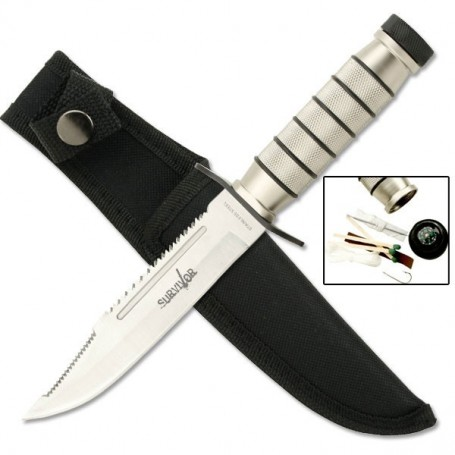 Cuchillo Survivor HK-695 - Armeria EGARA