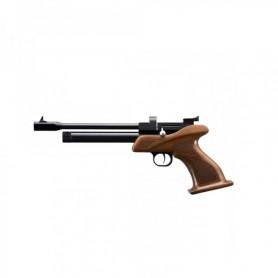 Pistola Zasdar CP1 Co2 multi-tiro empuñadura madera picada cal.