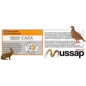 Licencia de caza y seguro (Cataluña) - Armeria EGARA