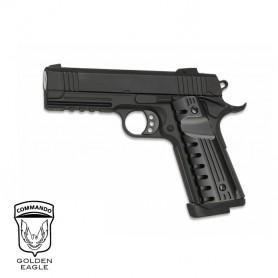 Pistola Golden Eagle Hi-Capa 4.3 Comando corredera metálica - 6
