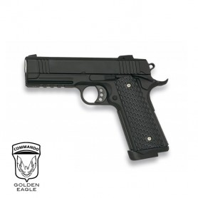 Pistola Golden Eagle Hi-Capa 4.3 corredera metálica - 6 mm