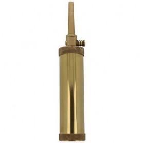 Polvorera Pedersoli cilindrica de LATON - Armeria EGARA