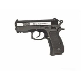 Pistola CZ 75D Compact Duotone corredera metálica - 4,5 mm Co2