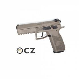 Pistola CZ P-09 Duty FDE Blowback - 4,5 mm Co2 Balines -