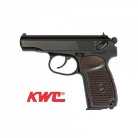Pistola KWC Makarov PM 4,5 mm Full-metal Co2 Bbs Acero -