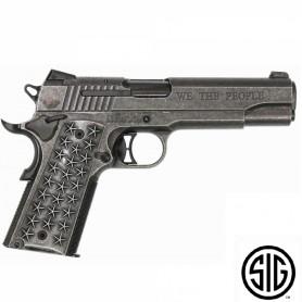 Pistola Sig Sauer WTP CO2 - 4,5 mm BBs Acero - Blowback -