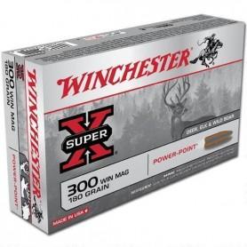 Munición metálica Cal 300 Winchester Power Point - Armeria EGARA