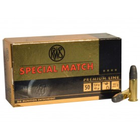 Munición RWS SPECIAL MATCH Cal.22 - Armeria EGARA