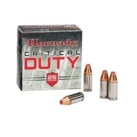 Munición CRITICAL DUTY Hornady (varios calibres) - Armeria EGARA