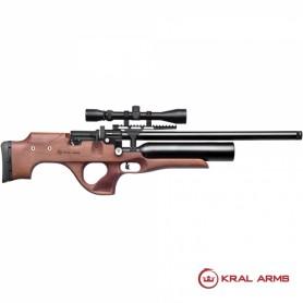 Carabina PCP KRAL Puncher Nemesis Madera 4,5/5,5mm - 24 Julios