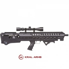 Carabina PCP KRAL Puncher Armour Negro - Armeria EGARA