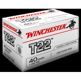 Munición Winchester T22 - Armeria EGARA