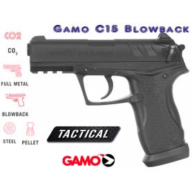 Pistola Co2 C-15 Cal 4,5 GAMO - Armeria EGARA