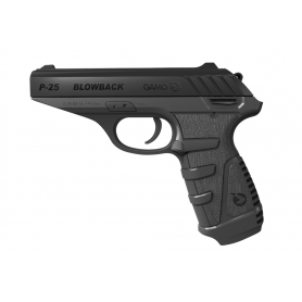 Pistola GAMO P-25 Co2 BLOWBACK - Armeria EGARA