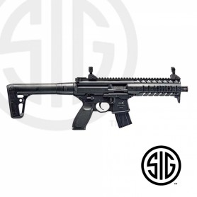 Subfusil Sig Sauer MPX ASP Black Co2 - 4,5 Balines - Armeria