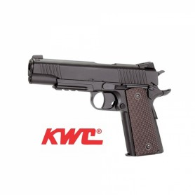 Pistola KWC M45 A1 1911 4,5 mm Co2 Bbs Acero - Armeria EGARA
