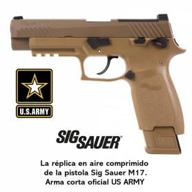 Pistola Sig Sauer M17 ASP Coyote CO2 - 4,5 mm Balines -