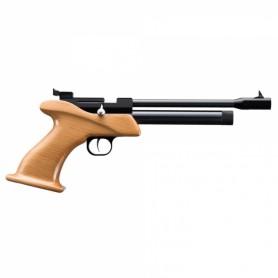 Pistola Zasdar CP1 Co2 mono-tiro empuñadura madera cal. 4,5 mm