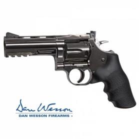 "Revolver Dan Wesson 715, 4"" Steel Grey - 4,5 mm Co2 Bbs Acero -"