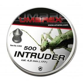 Balines Diábolos Umarex Intruder Spezial cabeza en punta 4,5 mm