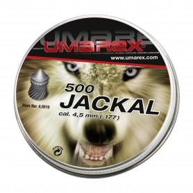 Balines Diábolos Umarex Jackal cabeza en punta Spezial 4, 5 mm
