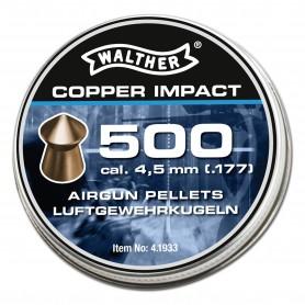 Balines Walther Copper Impact Diabolos 4,5 mm - Armeria EGARA