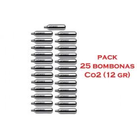 PACK 25 bombonas Co2 - 12 gr - Armeria EGARA