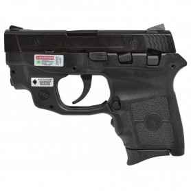 Pistola SMITH & WESSON M&P BODYGUARD 380 láser verde - Armeria