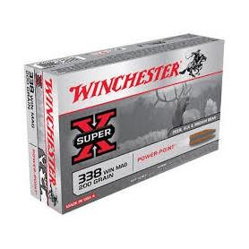 Munición Metálica Winchester Cal. 338 Power Point - Armeria