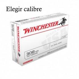 Munición Winchester FMJ (elegir calibre) - Armeria EGARA