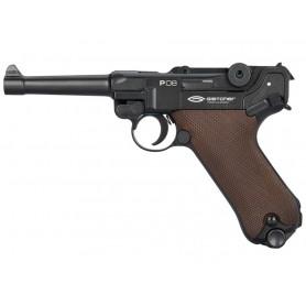 Pistola Gletcher P08 CO2 Blowback BB - Armeria EGARA